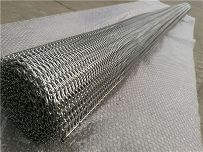 There is one roll of facade decorative mesh.