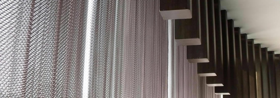 Mesh Curtain Panels : Metal wire mesh curtains decorative images