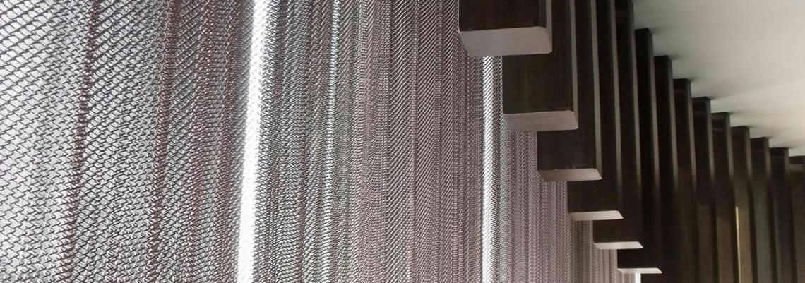 Perfect ... Metal Mesh Curtain ...