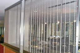 Metal Mesh Curtains With Aluminum Copper And Stainless Steel